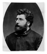Georges Bizet, French Composer Fleece Blanket