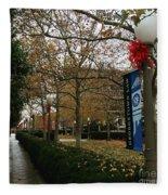 Georgetown Law Holiday Fleece Blanket
