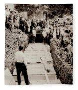 Georgetown Section Of Wilkes Barre Twp. June 5 1919 Fleece Blanket