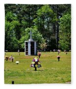 Georgia Memorial Gardens Fleece Blanket