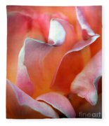Georgias Rose Fleece Blanket