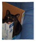 Gepptto The Cat Fleece Blanket