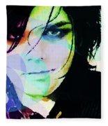 Gerard Way My Chemical Romance  Fleece Blanket