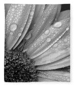 Gerbera Daisy After The Rain 2 Fleece Blanket