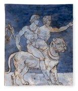 Gericault: Bacchus & Ariadne Fleece Blanket