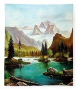 German Alps Fleece Blanket
