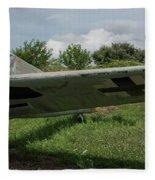 German Fighter Fleece Blanket