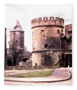 German Gate In Metz 1955 Fleece Blanket