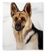 German Shepherd Fleece Blanket
