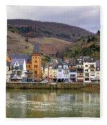 German Wine Country Fleece Blanket