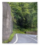 Germany Roads Fleece Blanket