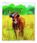 Gertrude Fleece Blanket