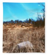 Gerttysburg Series Little Round Top Fleece Blanket
