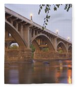 Gervais Bridge Fleece Blanket