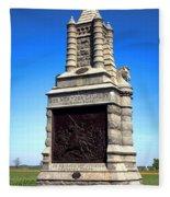 Gettysburg National Park 6th New York Cavalry Memorial Fleece Blanket