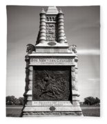 Gettysburg National Park 6th New York Cavalry Monument Fleece Blanket
