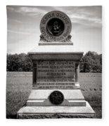 Gettysburg National Park 80th New York Infantry Militia Monument Fleece Blanket