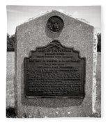 Gettysburg National Park Army Of The Potomac Second Brigade Horse Artillery Fleece Blanket