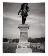 Gettysburg National Park John Gibbon Monument Fleece Blanket