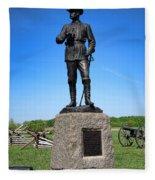 Gettysburg National Park Major General John Buford Memorial Fleece Blanket