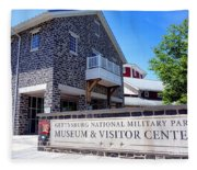 Gettysburg National Park Museum And Visitor Center Fleece Blanket