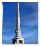 Gettysburg National Park United States Army Regulars Memorial Fleece Blanket