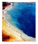 Geyser Basin Fleece Blanket