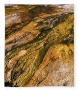 Geyser Basin Springs 2 Fleece Blanket