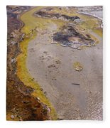 Geyser Basin Springs 4 Fleece Blanket