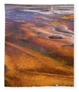 Geyser Basin Springs 7 Fleece Blanket
