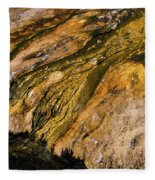Geyser Basin Springs Fleece Blanket
