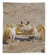 Ghost Crab Fleece Blanket