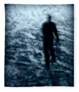 Ghost In The Snow Fleece Blanket