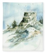 Ghost Mound - 090219 Fleece Blanket