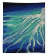 Ghost Of The Sea Fleece Blanket