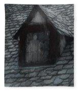 Ghost Rain Fleece Blanket