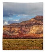 Ghost Ranch Red Fleece Blanket