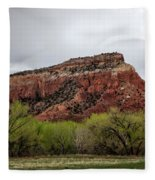 Ghost Ranch View Fleece Blanket