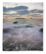 Ghost Tides Fleece Blanket