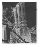 Ghostly Heights Fleece Blanket