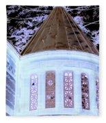 Ghostly Heights Manor Fleece Blanket