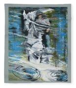 Ghostrider Reflection Fleece Blanket