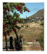 Ghosts Path To A Ghost Town Virginia City Nv Fleece Blanket