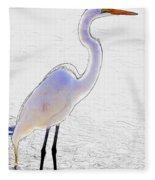 Giant Beauty Fleece Blanket