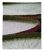 Giant Lilly Pads Fleece Blanket