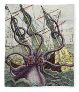 Giant Octopus Fleece Blanket