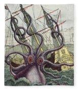 Giant Octopus Fleece Blanket