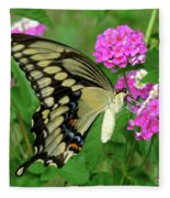 Giant Swallowtail Butterfly  IIi Fleece Blanket
