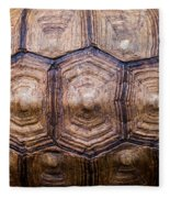 Giant Tortoise Carapace Fleece Blanket