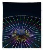 Giant Wheel Ferris Wheel Fleece Blanket